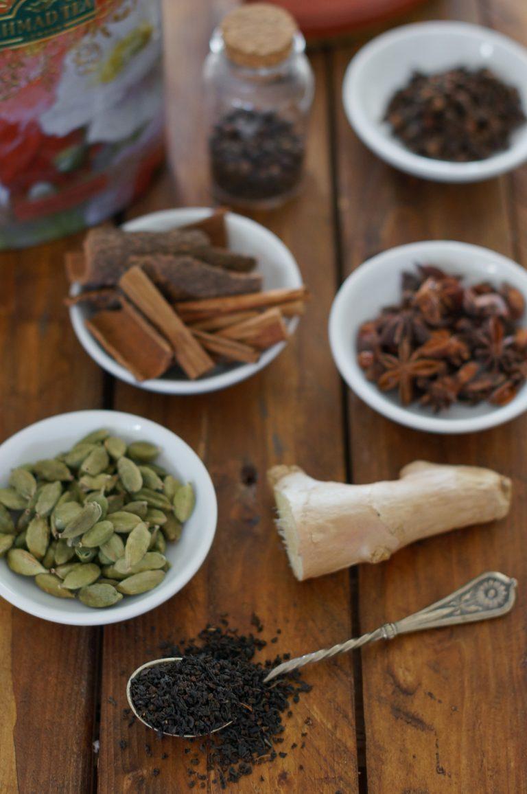 Подправки за масала чай