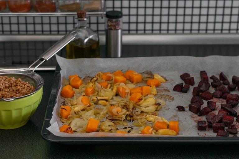 Изпечените зеленчуци