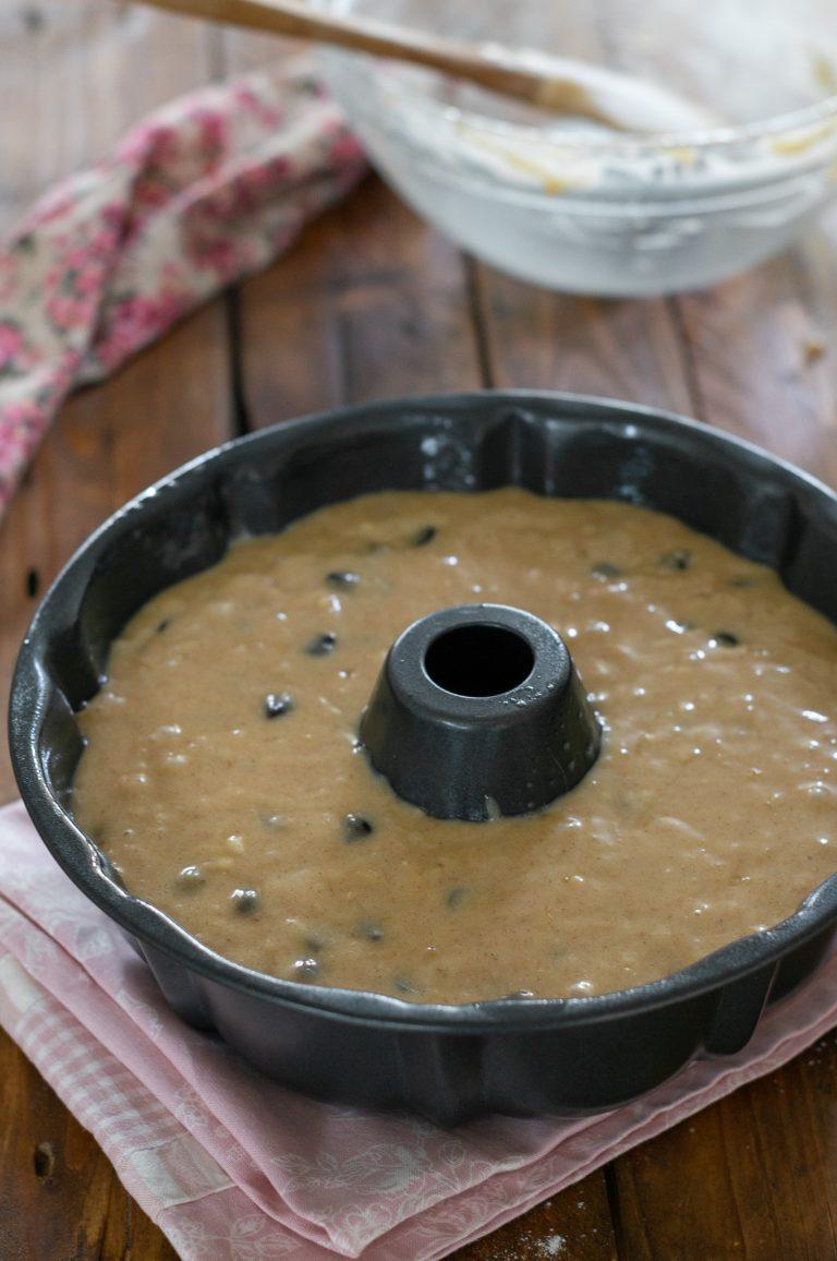 Приготвяне на бананов кейк с шоколад