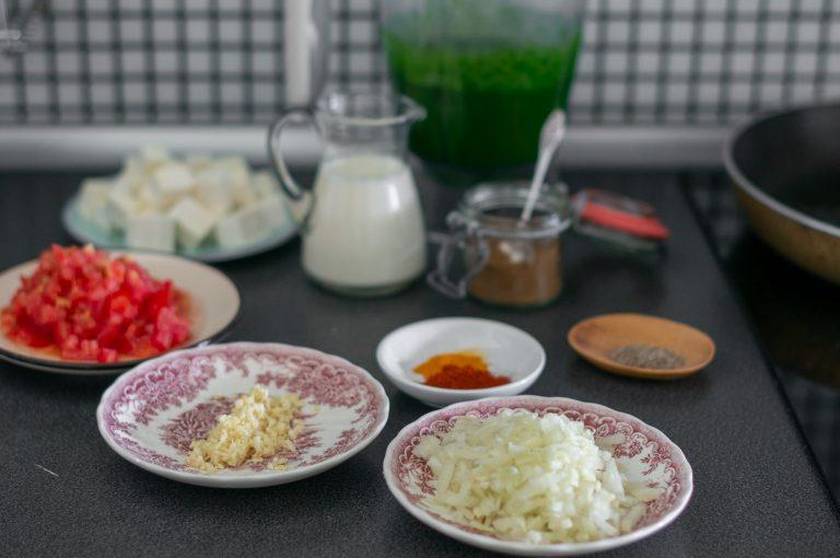 Предварително подготвените продукти за палак панир