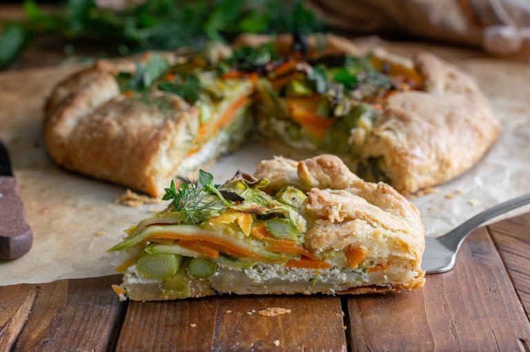 Зеленчуков галет с рикота