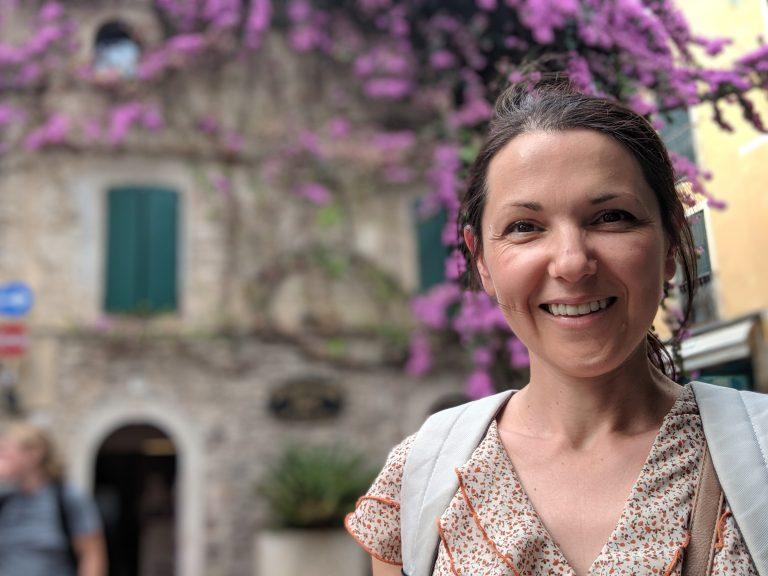 Аз, щастлива от приключението в северна Италия