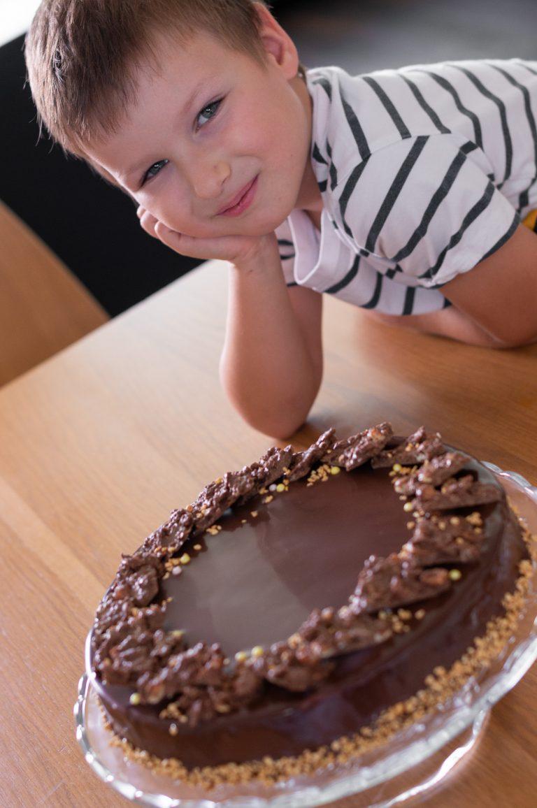 """Торта """"Лешников шоколад"""" - тортата за шестия рожден ден на Даниел"""