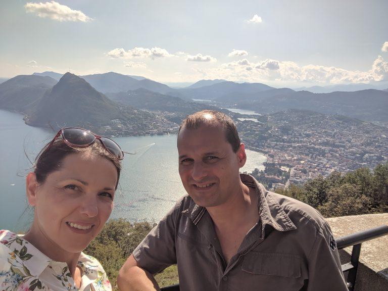 Аз и Вальо в Лугано, Швейцария