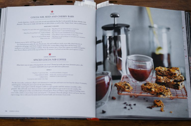 Рецепта от книгата Spice Health Heroes...