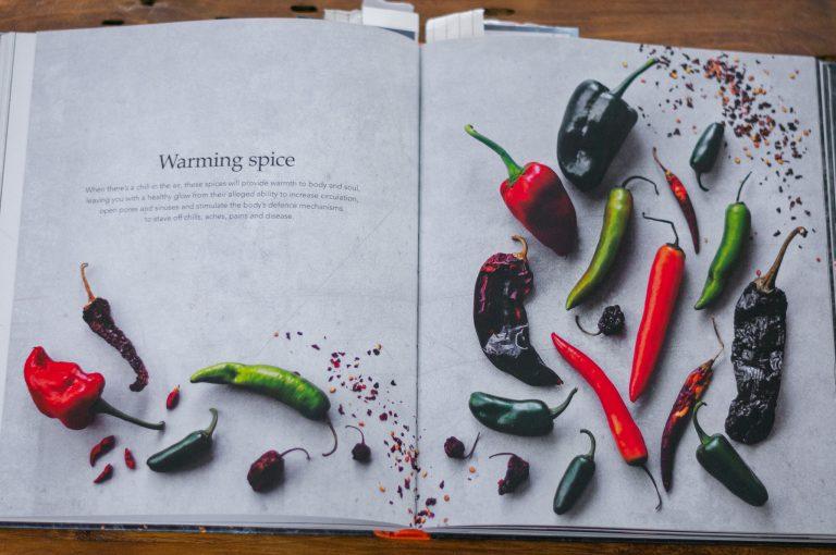 Страници от книгата Spice Health Heroes...