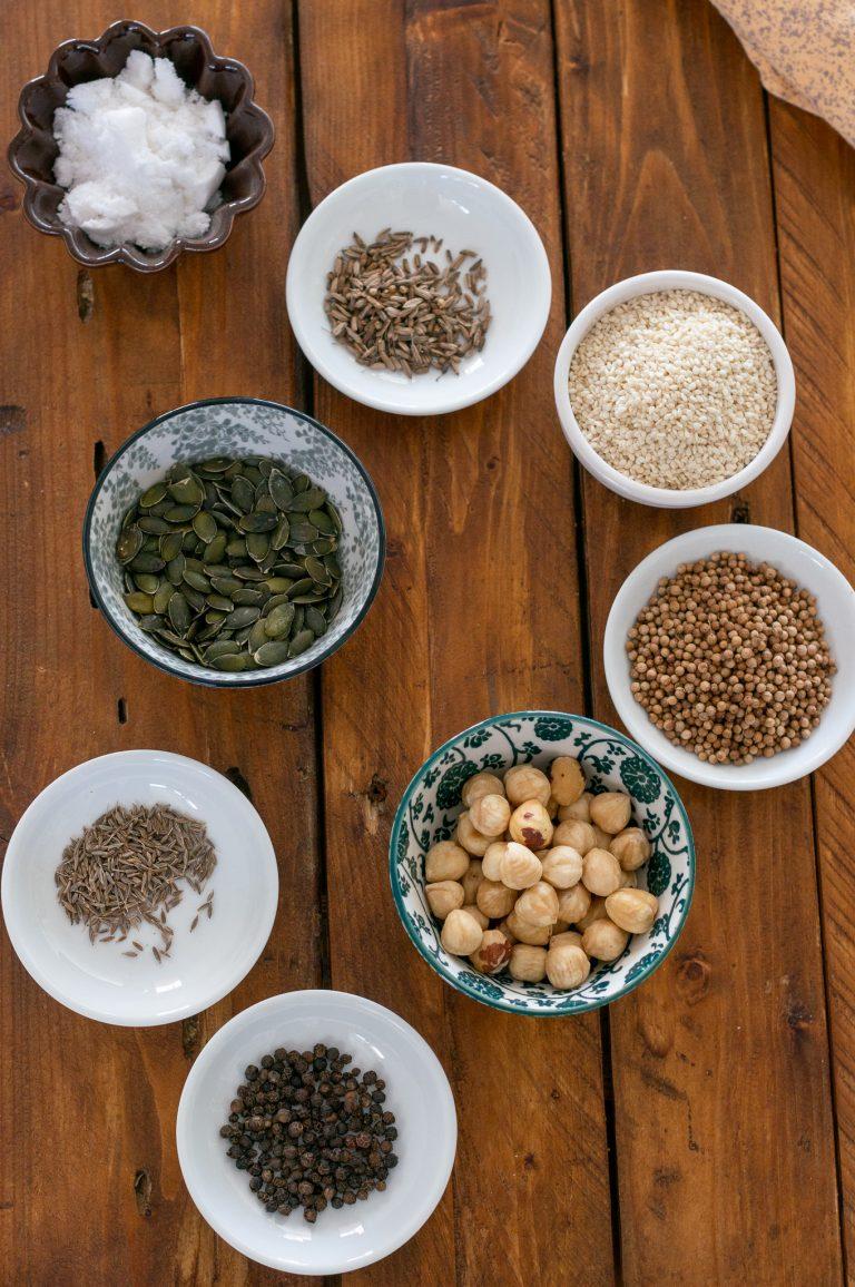 Съставки за египетска смес дука