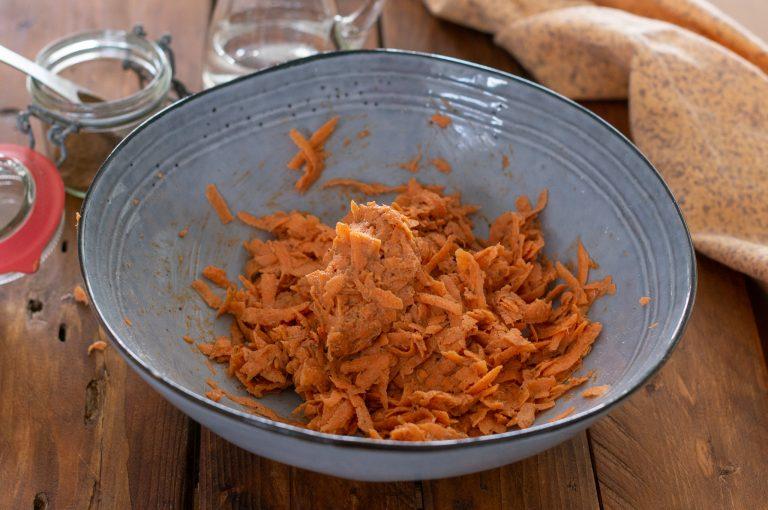 Готовата смес за кюфтета от батат