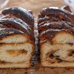 Еврейска Бабка с тахан и халва или с тахан и шоколад