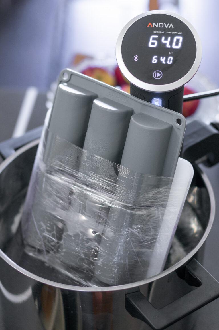 Опакованите форми се готвят с метода су вид