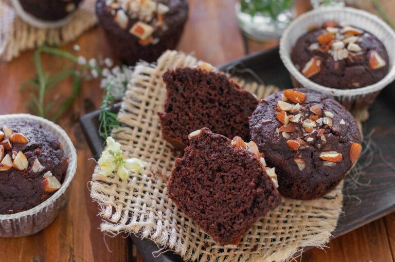 Веган шоколадови мъфини с тиквички