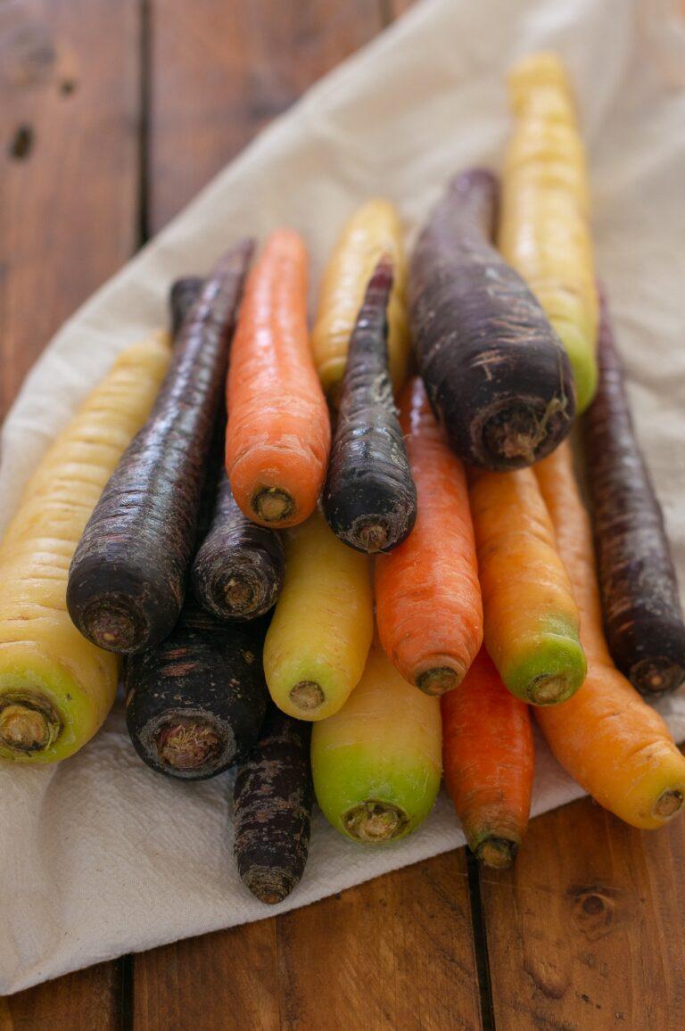 Различни видове моркови
