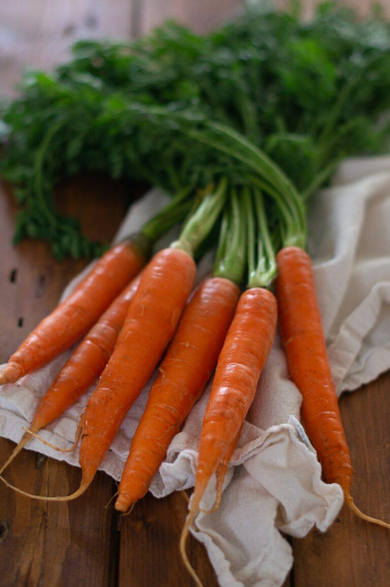 Оранжеви моркови