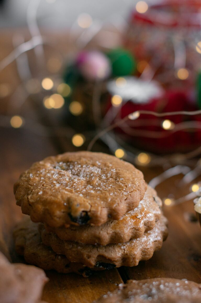 Тройно джинджифилови бисквити с меласа (по-лекият вариант)