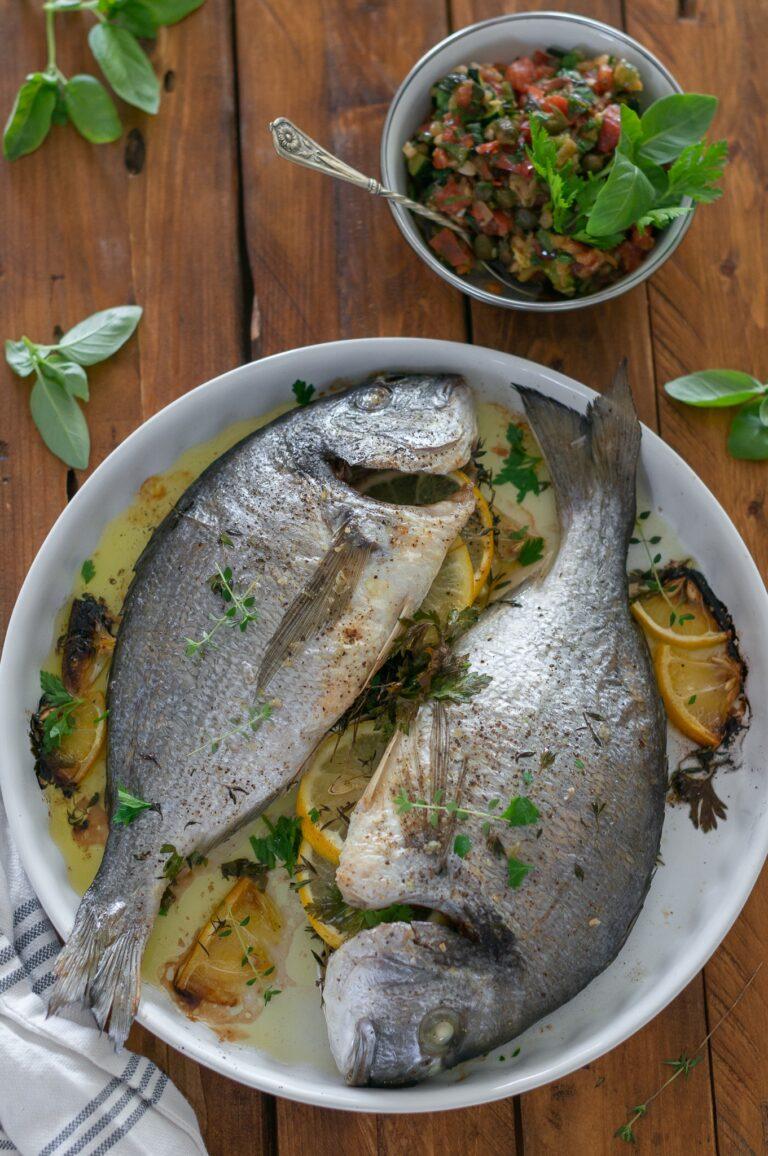 Изпечените риби