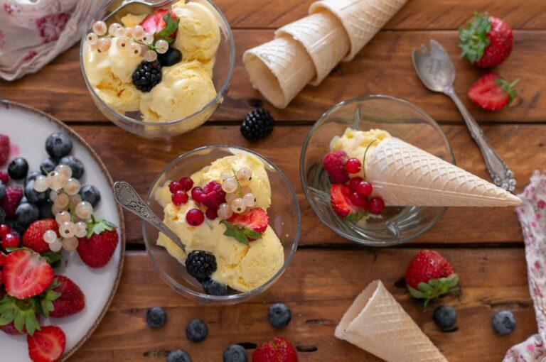 Как да си направя ванилов сладолед
