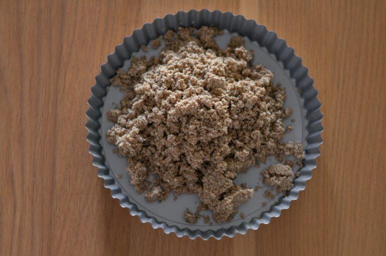 Гранола сместа за основата на тарта